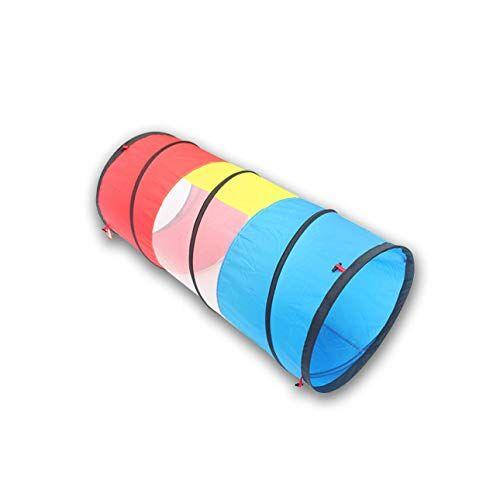 Ballylelly Giocattoli per bambini 1 M 1 Round Tunnel Tube Crawler Tube Luce solare Drill Hole Attrezzatura per l'istruzione precoce