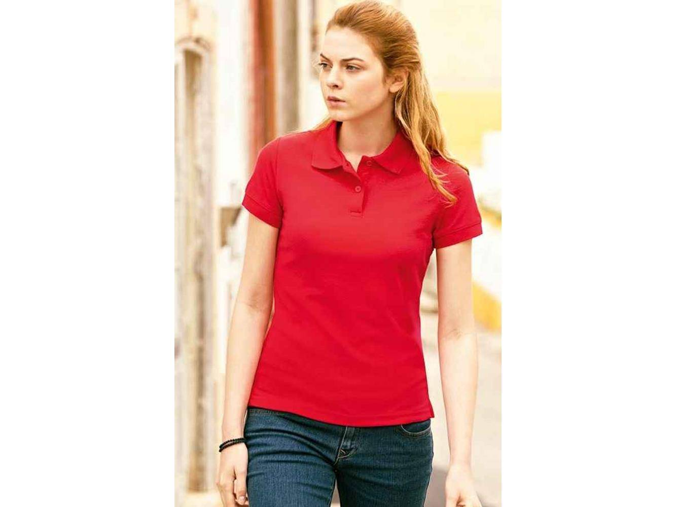 fruit of the loom polo donna lady fit 65/35 fruit of the loom