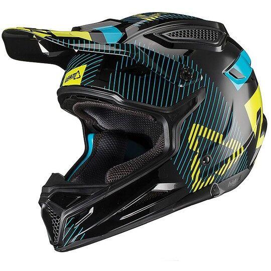 leatt casco moto cross enduro leatt gpx 4.5 v19.2 nero lime