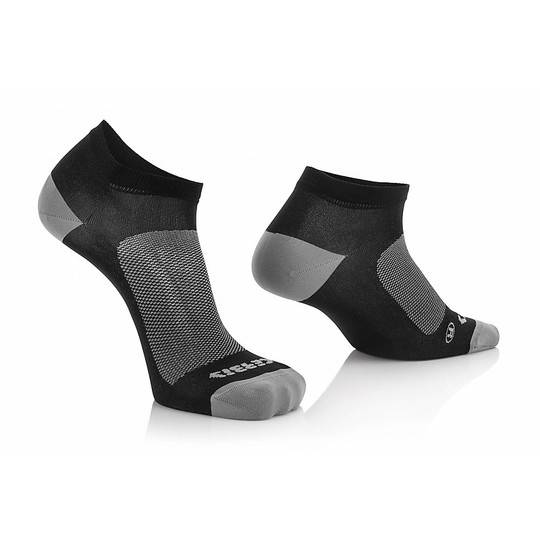 acerbis calze tecnica corta acerbis sport socks nero