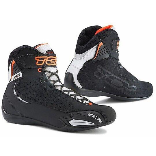 tcx scarpe moto tecniche tcx x-square sport nero bianco