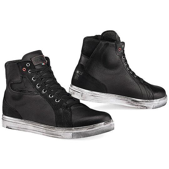 tcx scarpe moto lifestyle tcx street ace waterproof nero