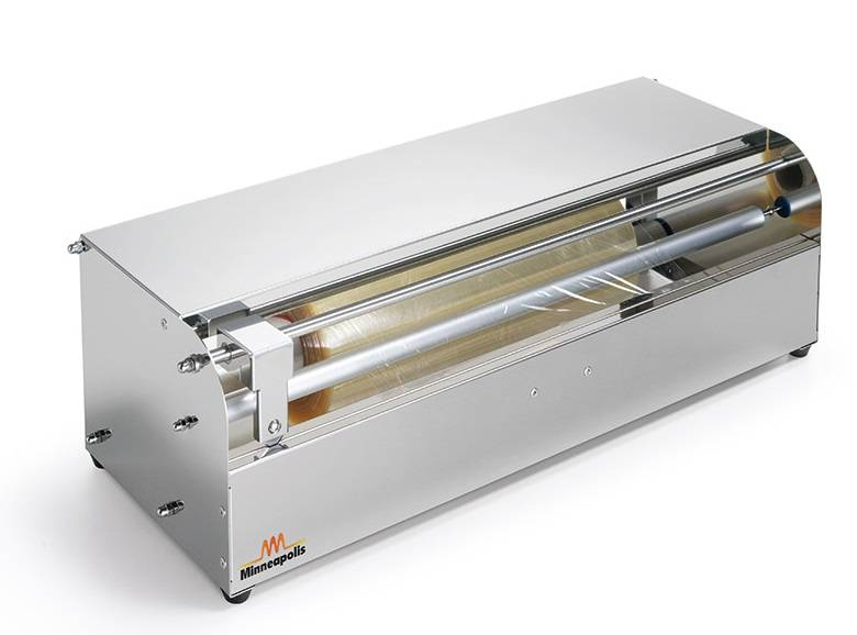 Dispenser Sirman Dimensioni max rotolo film mm 450xø110 Modello HW 45 Struttura in acciaio inox AISI 304