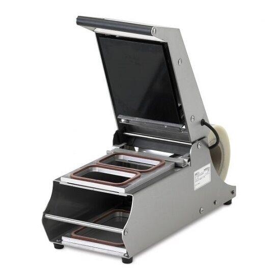 Termosigillatrice SAM Ampiezza massima della bobina di 150 mm Potenza Totale: 450 W Modello TS-150 230/50-60/1