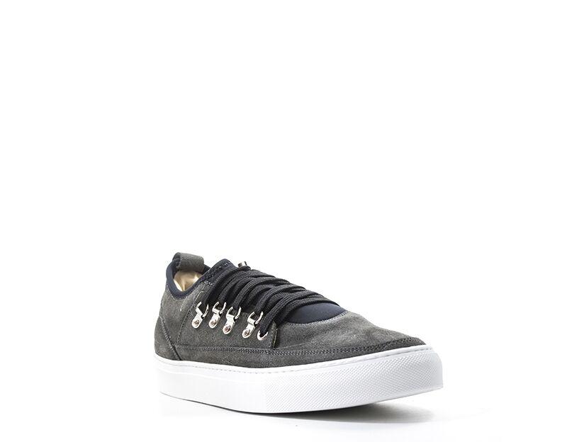 alessandro dell'acqua sneakers trendy uomo grigio