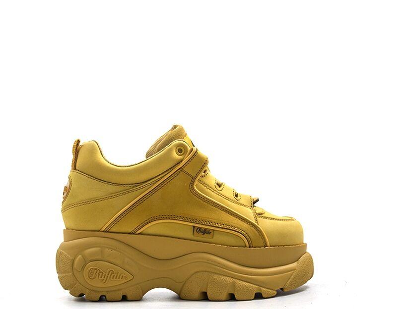 Buffalo Sneakers Trendy donna beige