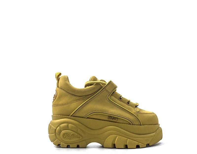 Buffalo Sneakers Trendy donna giallo