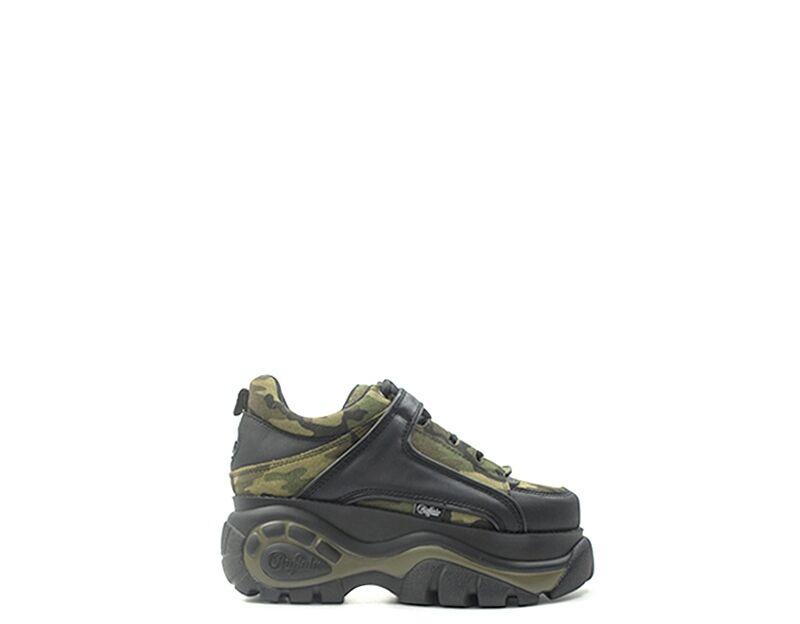 Buffalo Sneakers Trendy donna verde