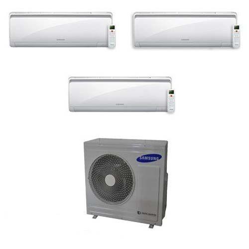 Samsung Condizionatore Samsung New Style Trial Split Inverter 7+9+9 7000+9000+9000 Btu Aj052fcj3eh/eu A+