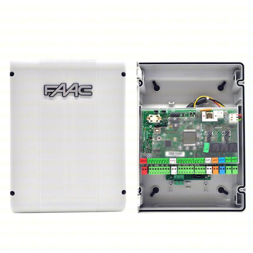 Scheda Elettronica E124 Con Contenitore Elettronica Di Comando Faac 790284