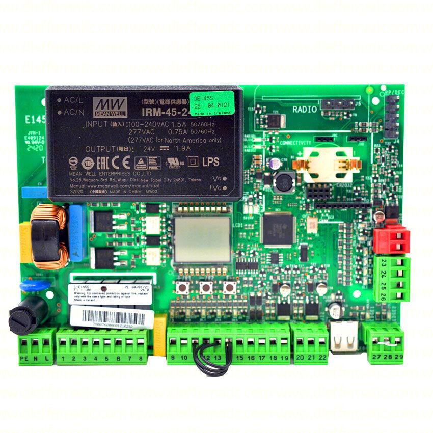 Scheda Elettronica E145 Per Attuatore Oleodinamico 230v 560 Faac 790006