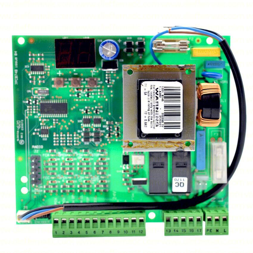 Scheda Elettronica 740d Incorporata Elettronica Di Comando Faac 202269 Sicurezza