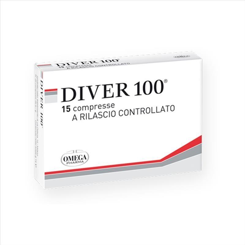 omega pharma diver 100 integratore sintomi malattia diverticolare 15 compresse