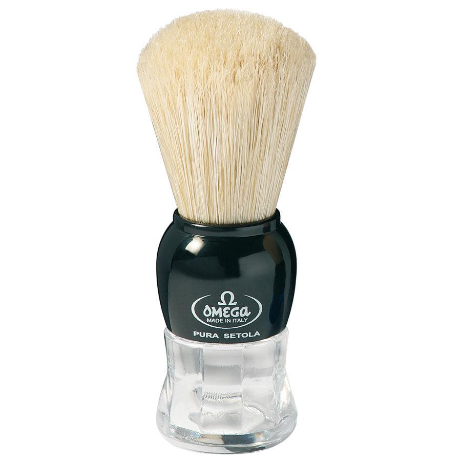 Omega Pennello da Barba in Pura Setola Art. 10072 colori assortiti