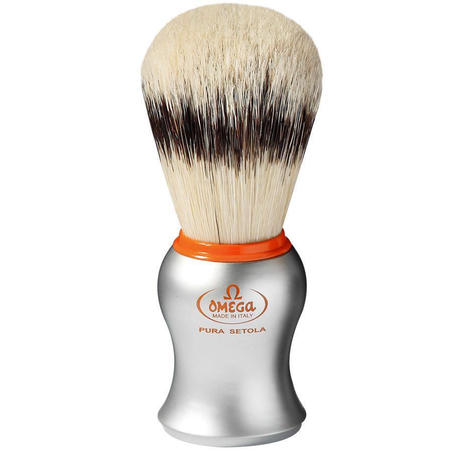 Omega Pennello da Barba in Pura Setola Effetto Tasso Art. 11573