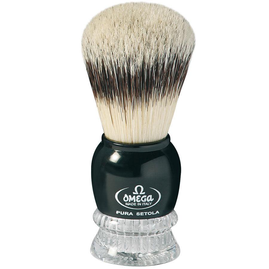 Omega Pennello da Barba in Pura Setola Effetto Tasso Art. 10275