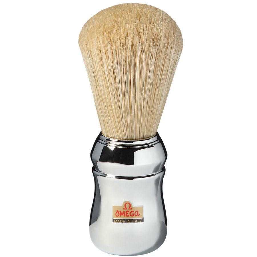 Omega QUARANTOTTO 48 - Pennello da Barba in Pura Setola Professionale Art. 10048