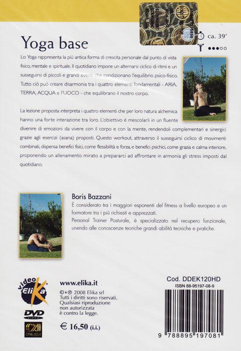 elika dvd yoga base