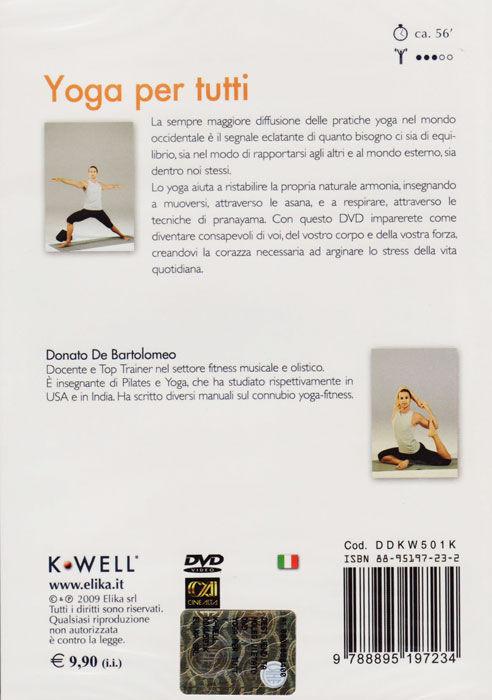 elika dvd yoga per tutti