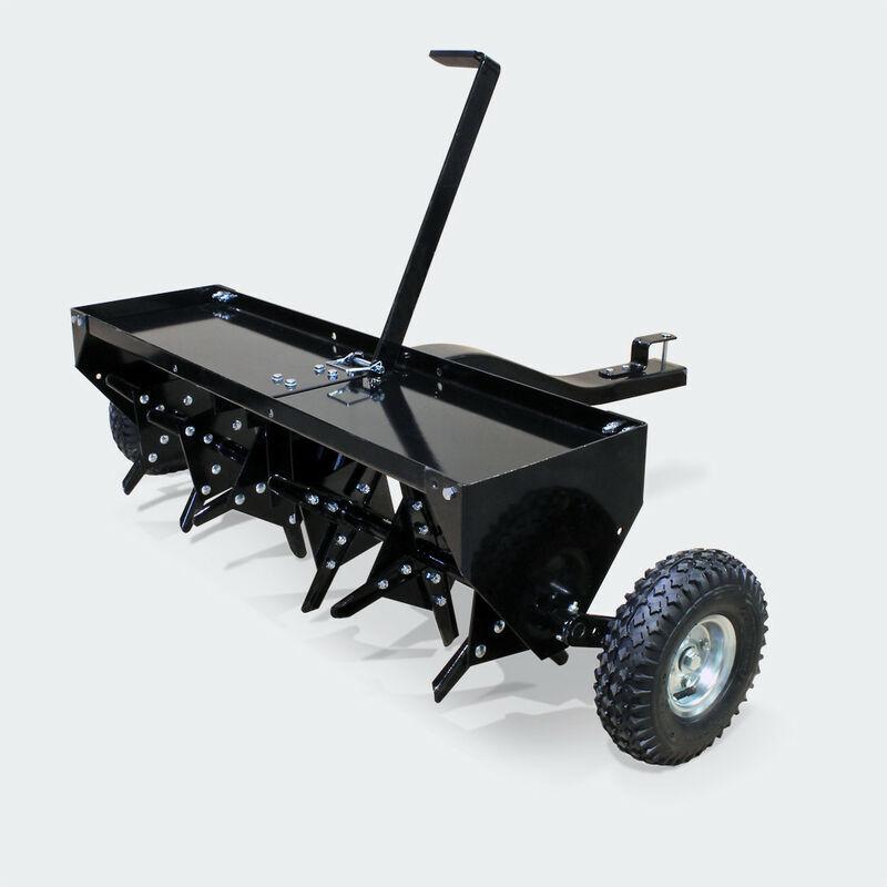 mercatoxl aeratore aeratori per prati 102cm per rasaerba trattore tagliaerba - mercatoxl