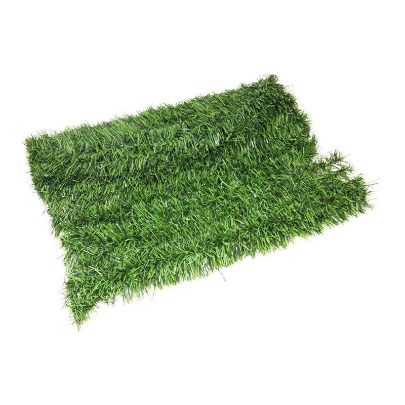 happy green 47349 copertura di chiusura prato in pvc, colore: verde, 30 x 25 x 10 cm - happy green