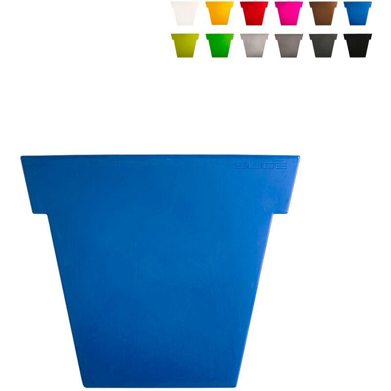 slide vaso per piante il vaso 55 cm design moderno   colore: blu - slide