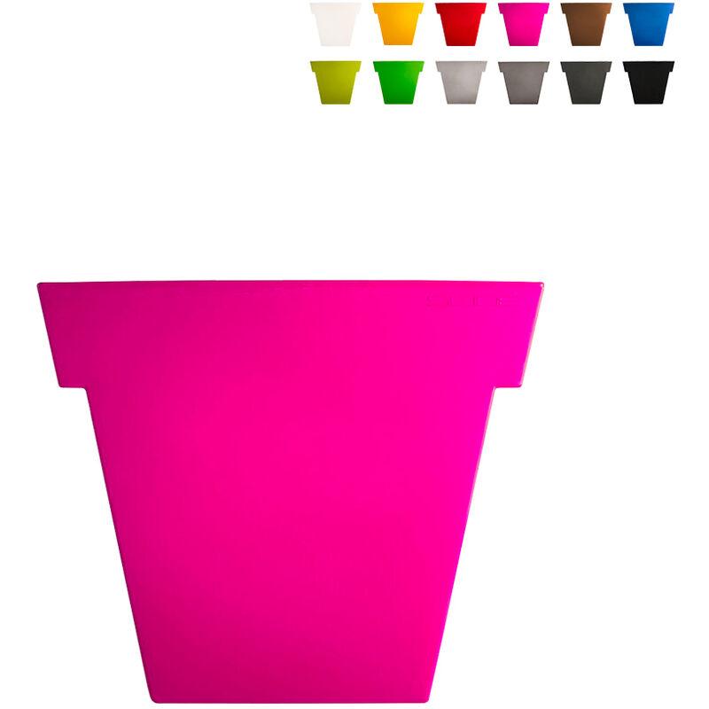 slide vaso per piante il vaso 55 cm design moderno   colore: fucsia - slide