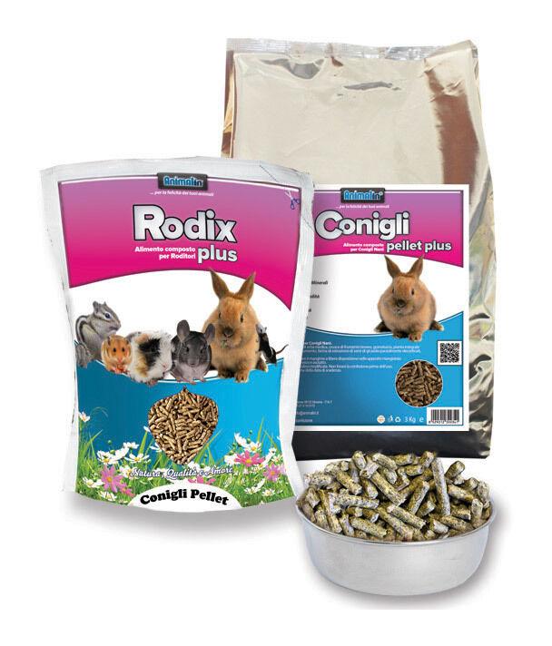 animalin - mix conigli pellet - kg. 25 - kg. 25