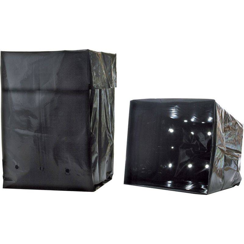 hydrofarm hgb2gal grow bag 7,5 l, 20 confezione da 25 unità - hydrofarm