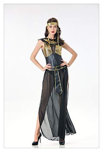 Z-one 1 Lady Cosplay Danza del ventre Gioielli Moneta Velo Halloween Dance Gioca Accessori di abbigliamento (Senza scarpe)