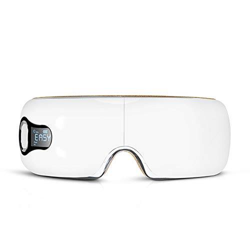 JAYDENN Pieghevole strumento di cura degli occhi massaggiatore occhio strumento di massaggio elettrico caldo compressore pressione vibrazione musica