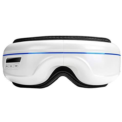 JAYDENN Dispositivo di cura dell'occhio di massaggio caldo senza fili elettrico intelligente Vibrazione dell'occhio massager Musica di Bluetooth