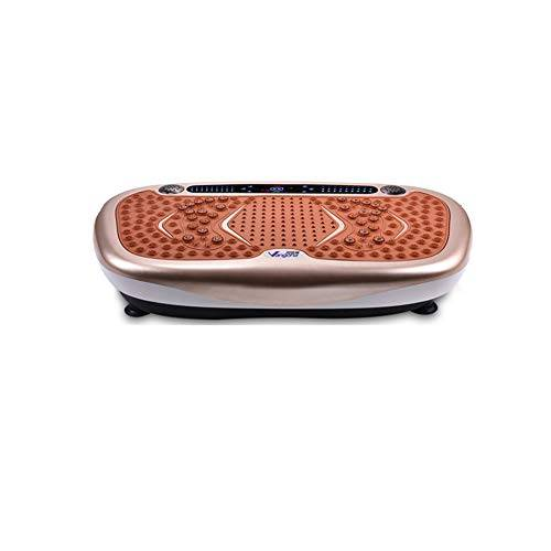 WFFF Pedana Vibrante Dimagrante Vibrazione Ultrasottile Di Tutto Il Corpo Musica Bluetooth + Superficie Enorme + Design Senza Rivali + Telecomando Per La Perdita Di Peso E La Tonificazione Del Corpo
