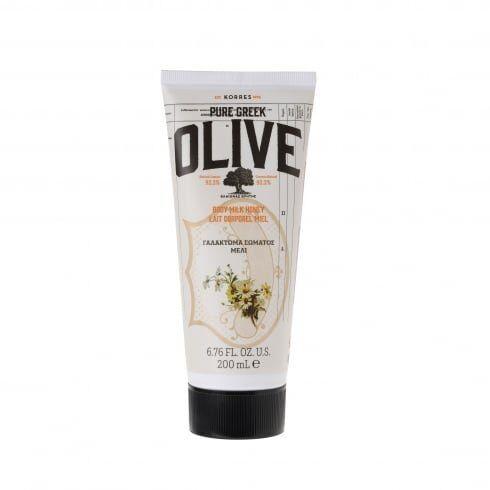 korres olive latte corpo al miele 200 ml