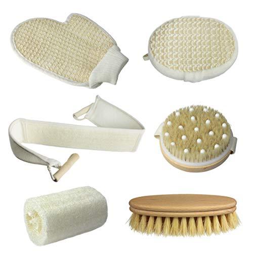 sanico spazzola esfoliante viso e corpo