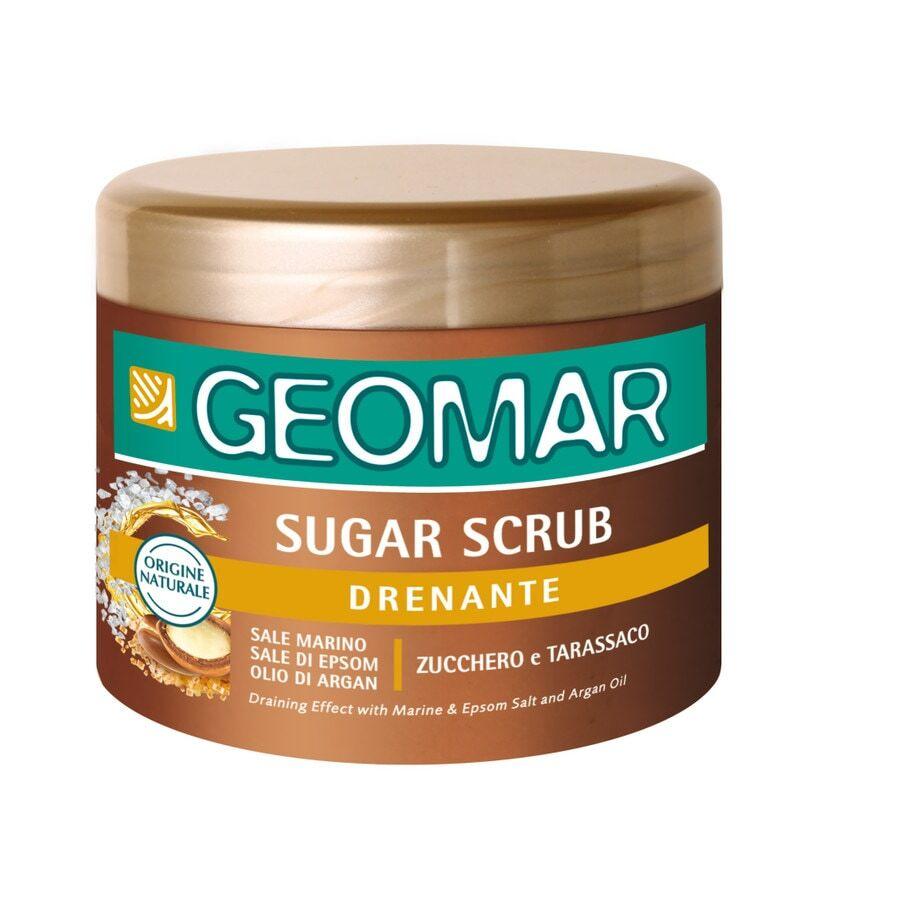 geomar sugar scrub drenante esfoliante corpo 600g