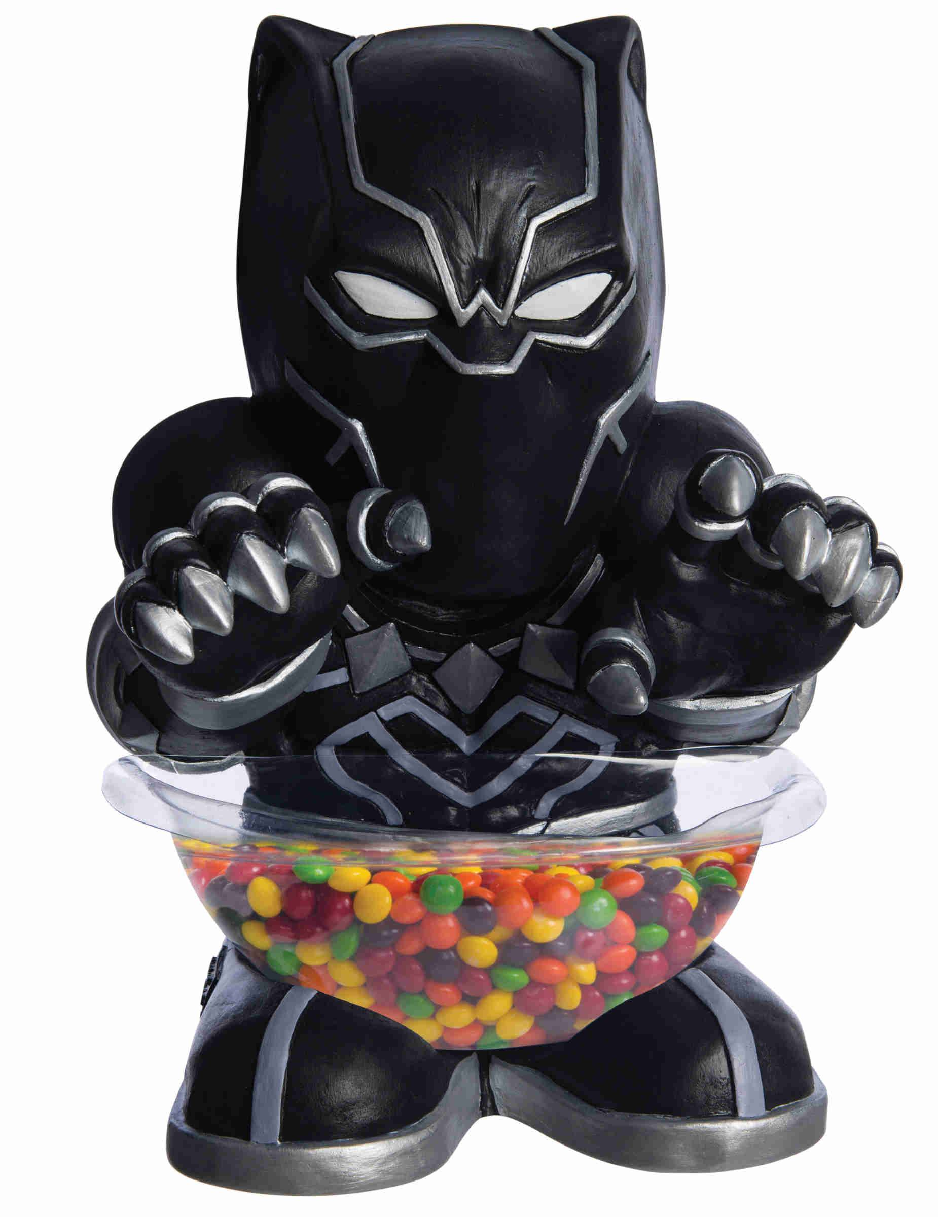 VegaooParty.it Mini portacaramelle Black Panther