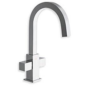 cristina rubinetterie quadri qd220 gr/lavabo regular 1f piletta 11/4 up&down cromato codice prod: licqd22051