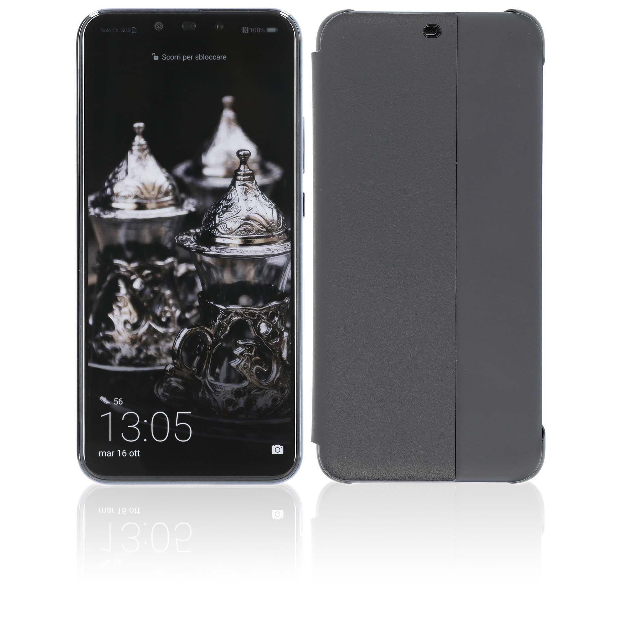 Huawei Mate 20 lite Smartphone con flip cover originale