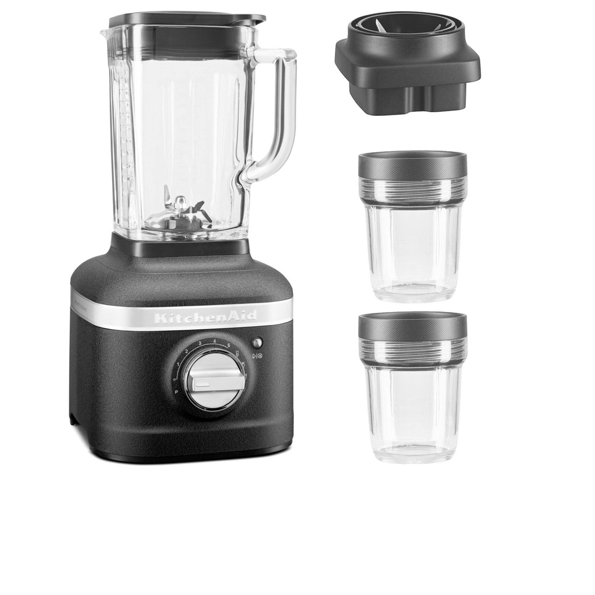 KitchenAid Blender 5 velocità+set 2 mini jar