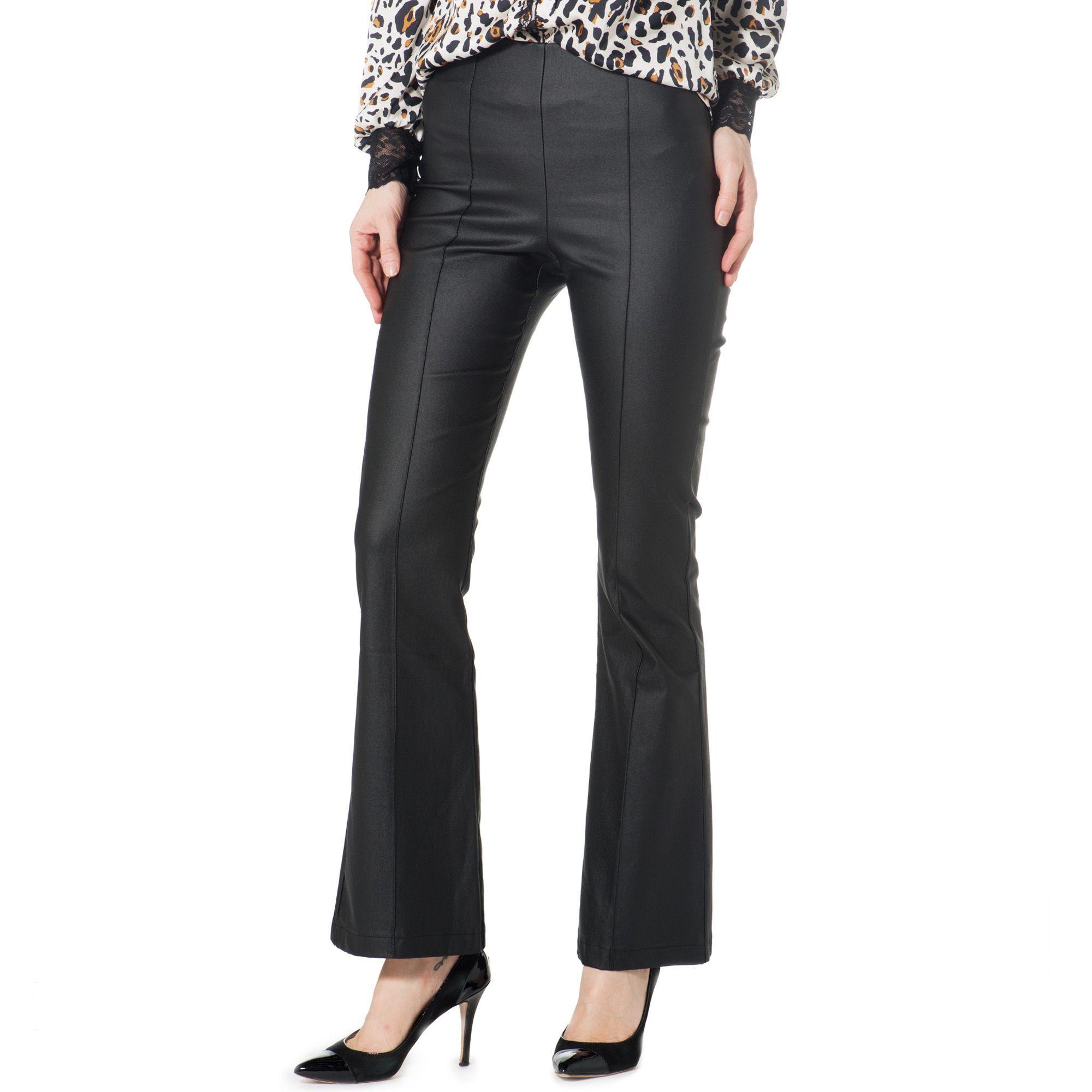 Officina della Moda Pantaloni made in Italy in similpelle