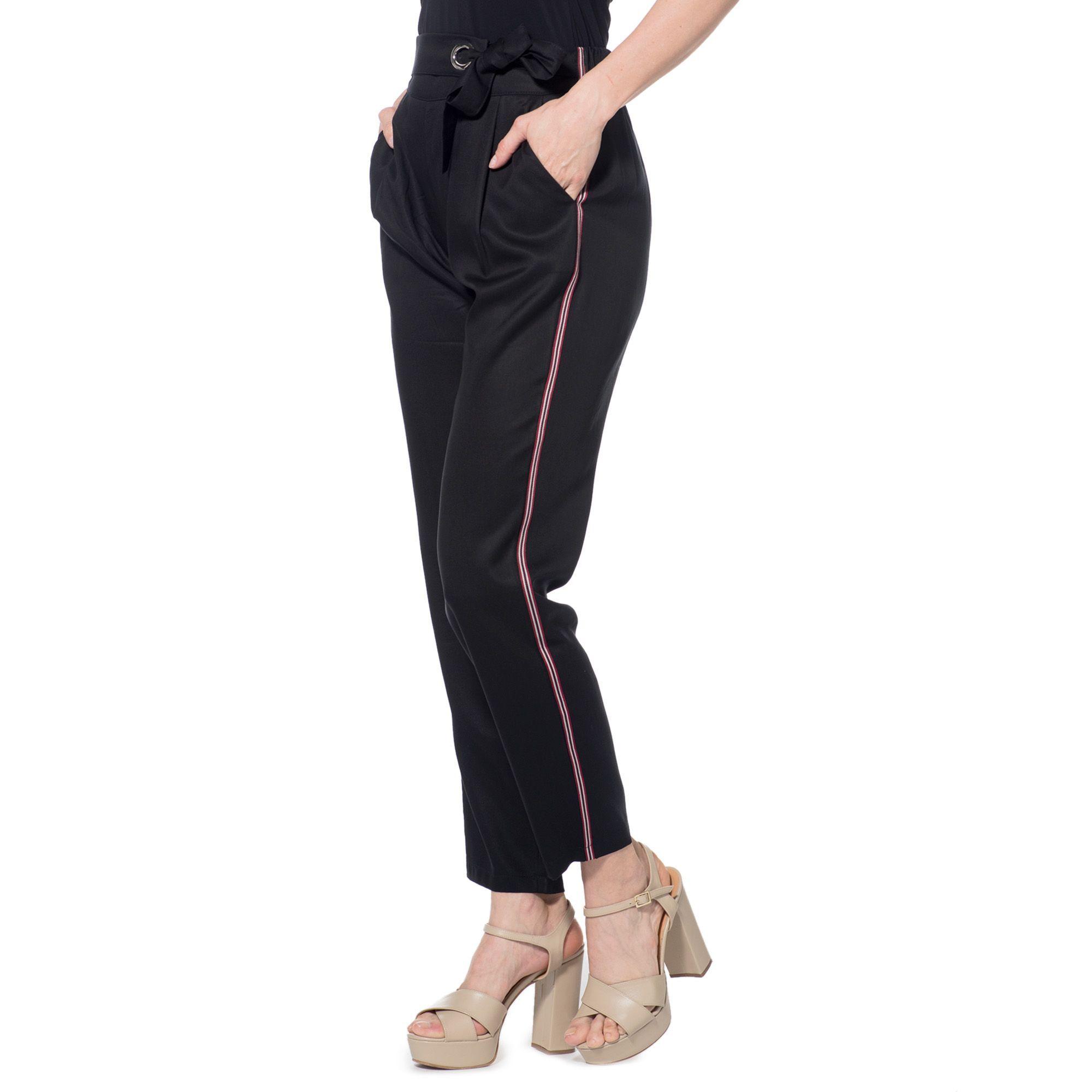 Officina della Moda Pantaloni jogger made in Italy in 100% lyocell