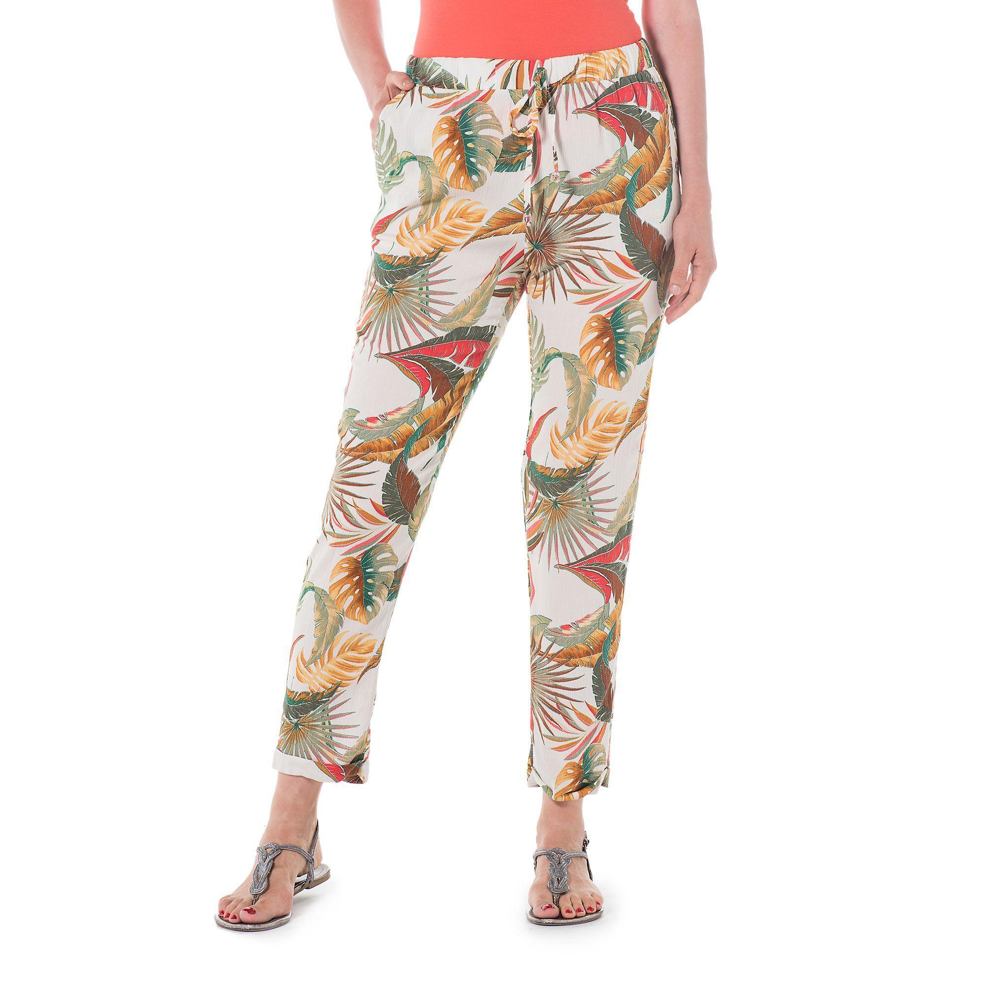 Officina della Moda Pantaloni made in Italy in viscosa