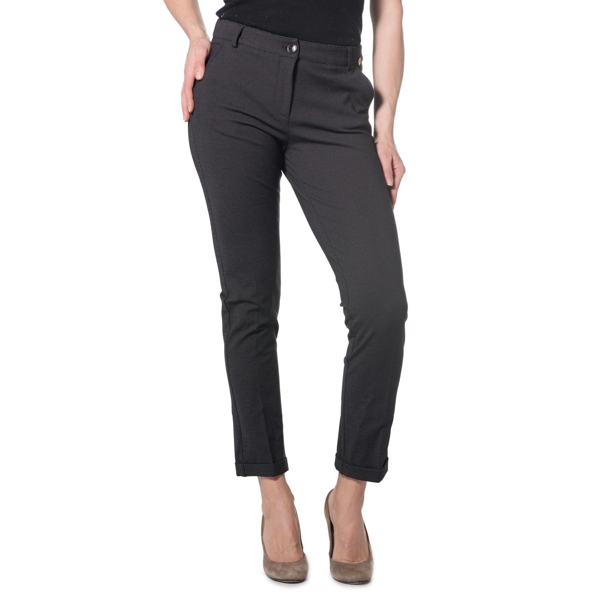 Officina della Moda Pantaloni a sigaretta made in Italy