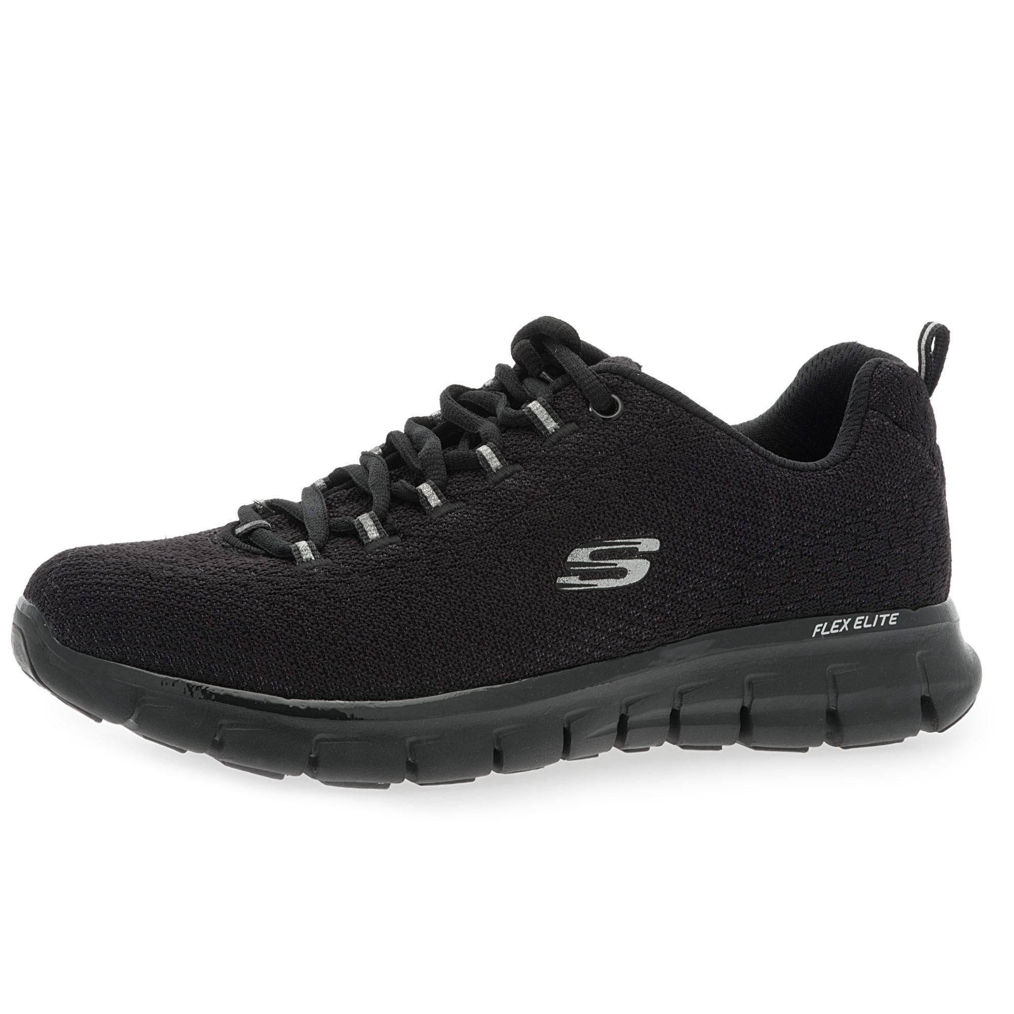 SKECHERS Sneaker Synergy Safe & Sound in mesh con soletta Memory Foam
