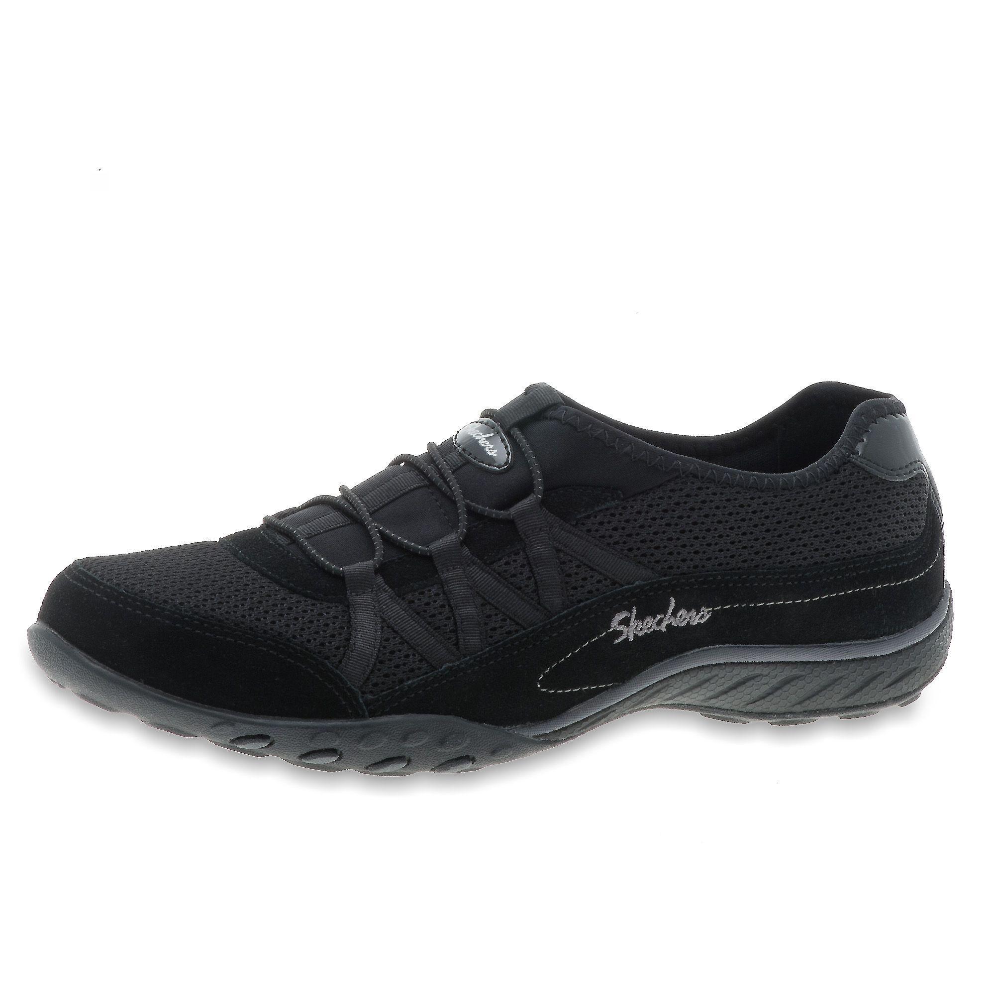 skechers scarpa fitness relaxed fit con inserti elastici e soletta in memory foam