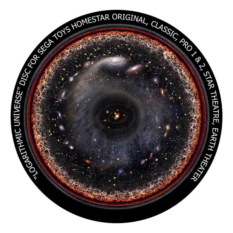 redmark disco per sega homestar pro planetarium storia dell'universo