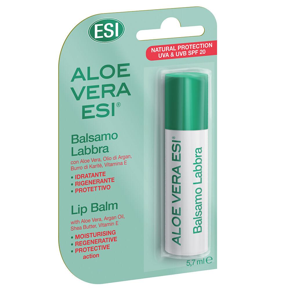 Esi Aloe Vera Balsamo labbra stick spf20 (5.7ml)