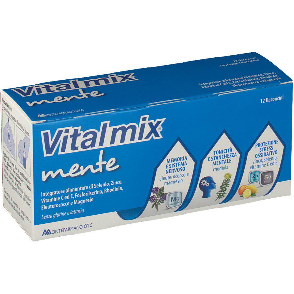 montefarmaco vitalmix mente (12 flaconcini)