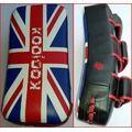 mikaido pao professionali uk flag regolabili koolook pro line, top della qualità, 2 pezzi (mikpaouk)